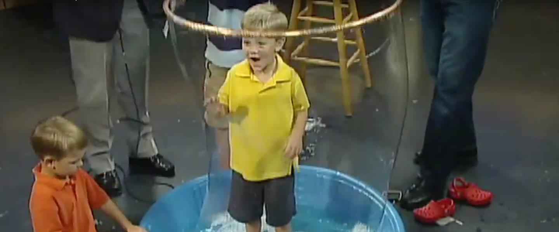 Giant Bubble Experiment