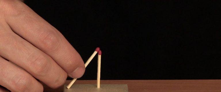 Match Levitation - Step 2