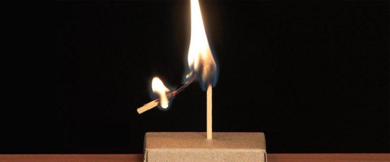 Burning Match Levitation