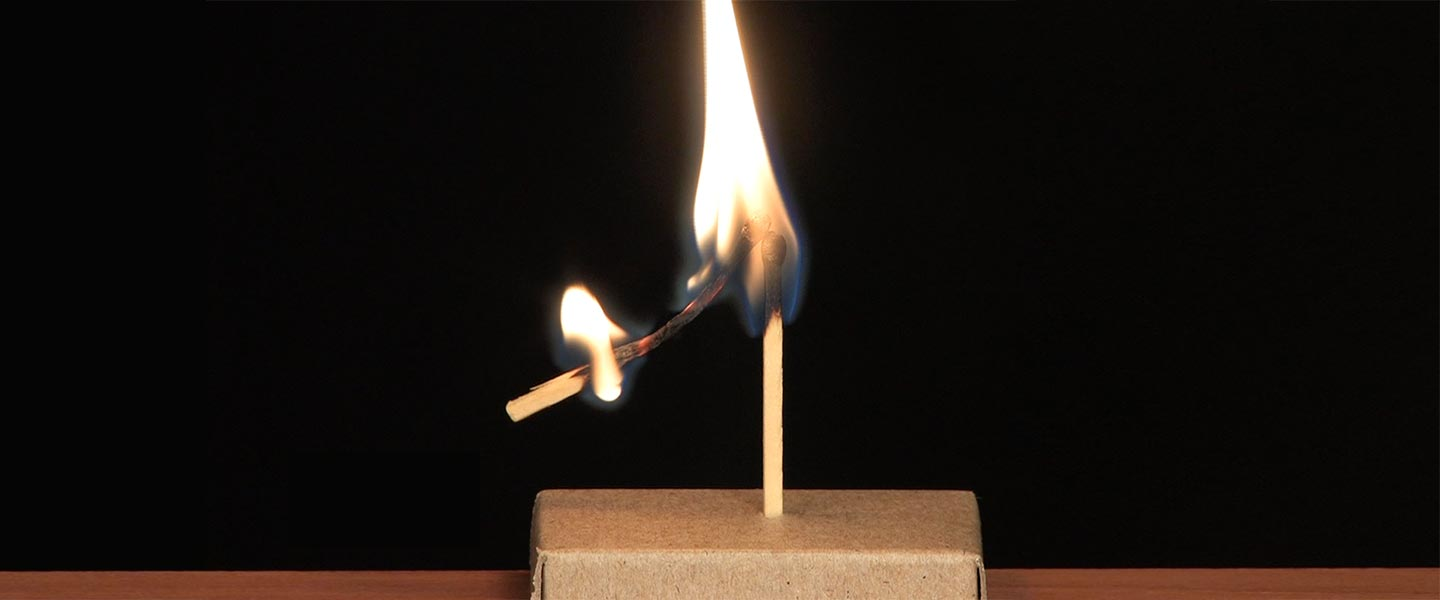 Burning Match Levitation