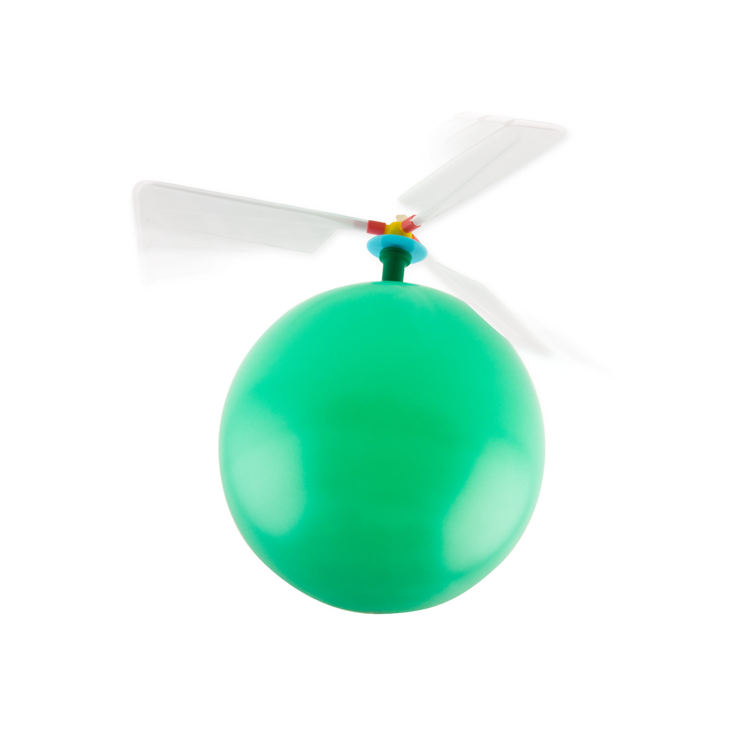 Balloon Powered Helicopter 4 Pack