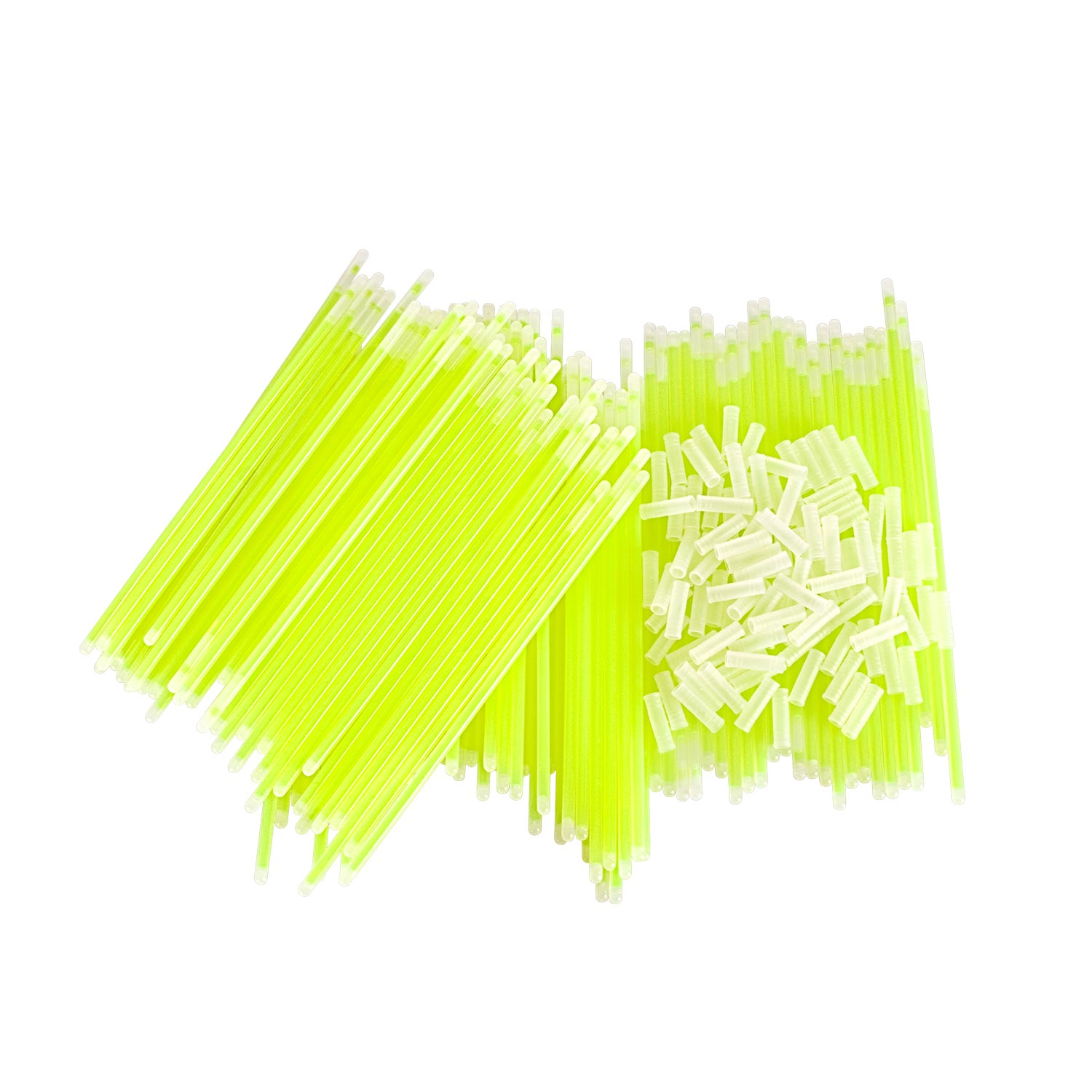 100 Pack of 8 inch Green Glow Sticks