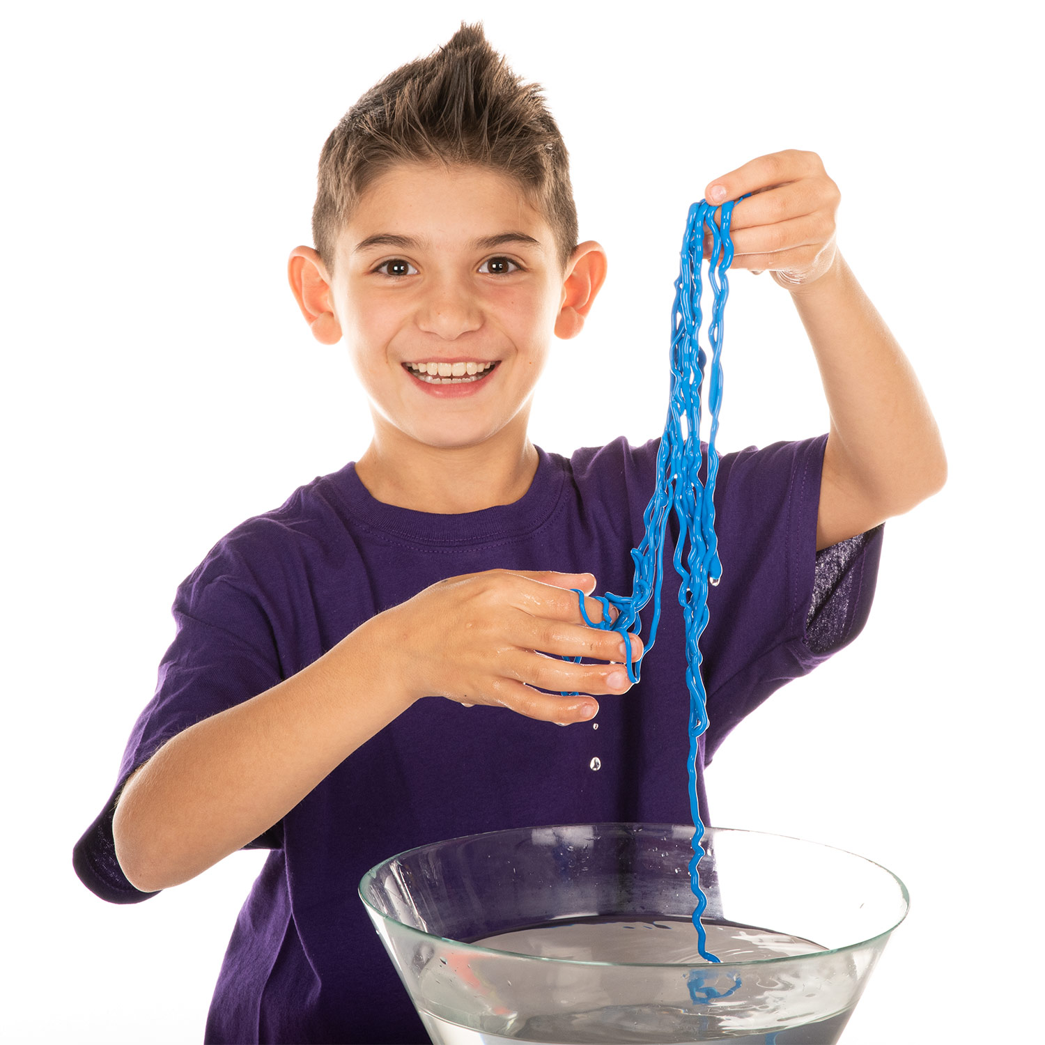Blue String Slime