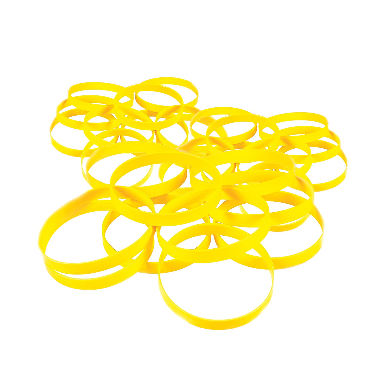 Yellow Rings 30 Pack