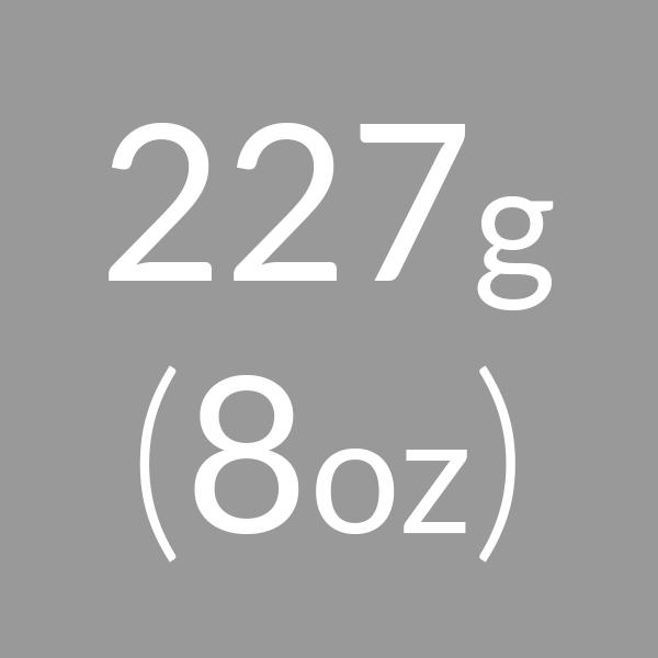 227g (8oz)