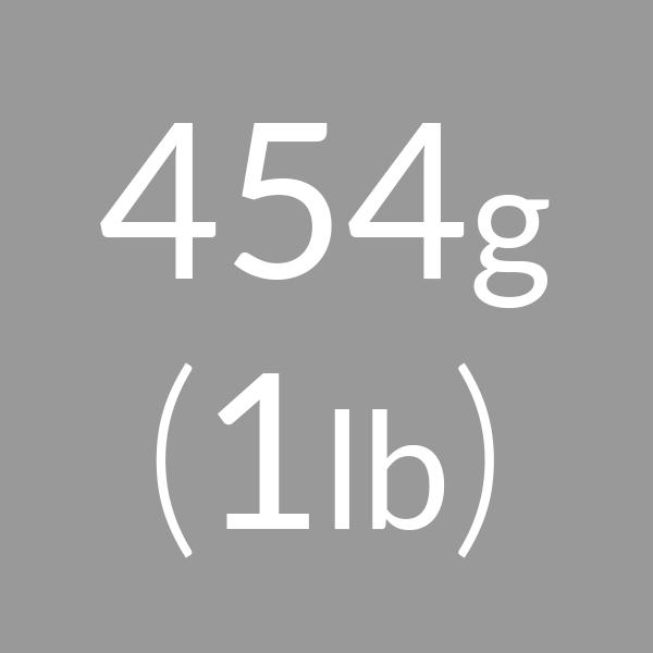 454g (1lb)