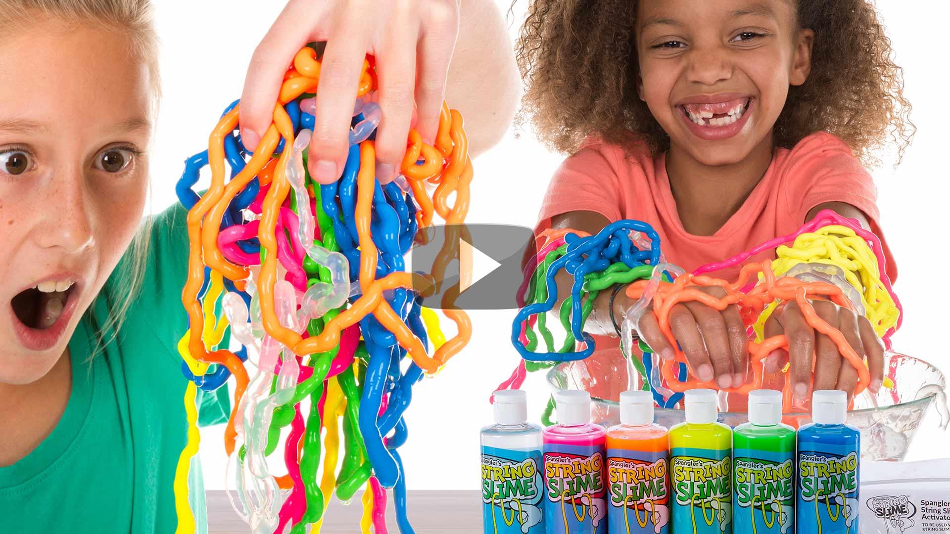 Rainbow String Slime™