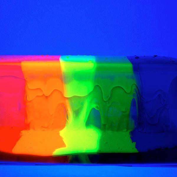 Rainbow Slime Art